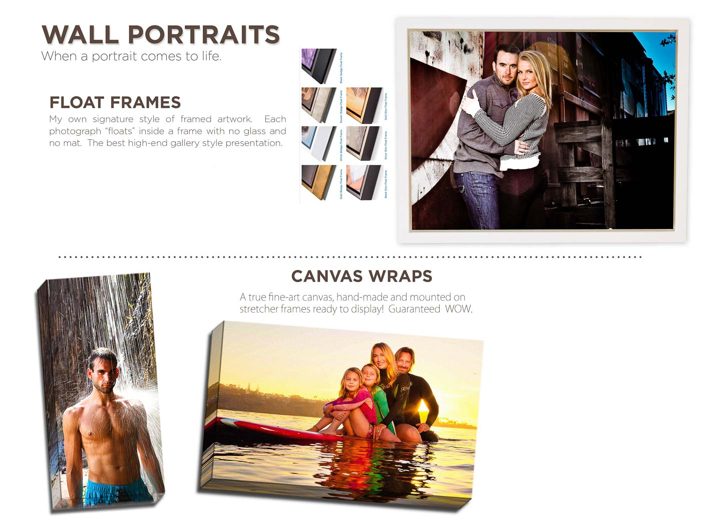 Canvas Wrap San Diego Photographer