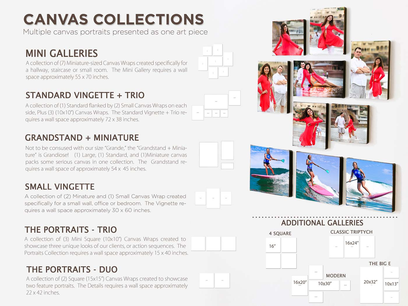 wall collections canvas wrap san diego photographer