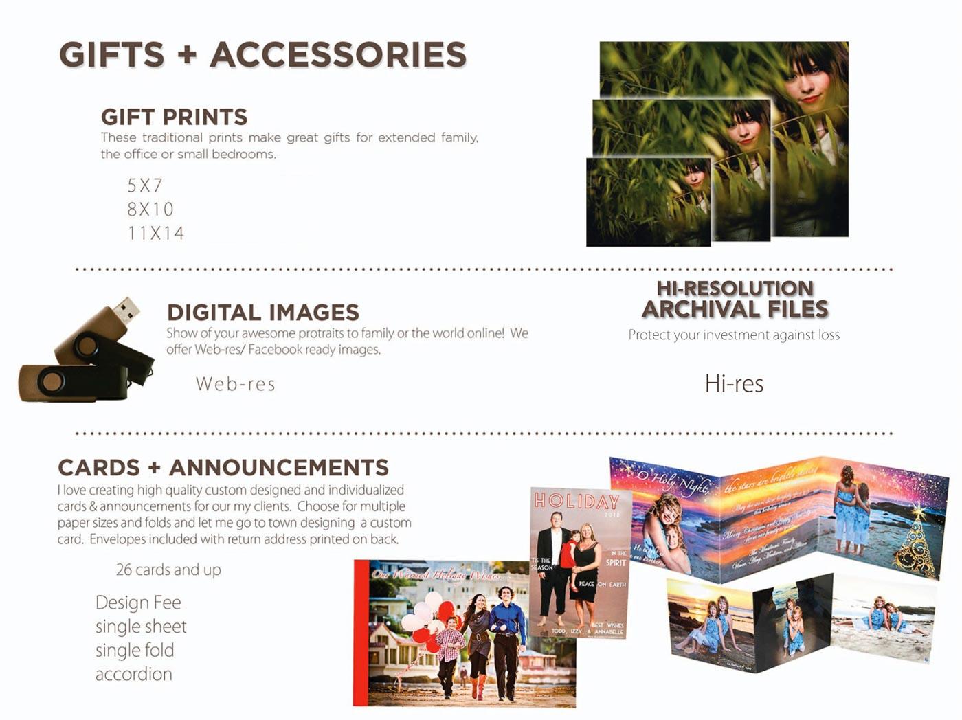 gift prints san diego photographer